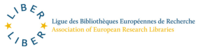 Ligue des Bibliothégues Européennes de reserche – Association of European Research Libraries's logo